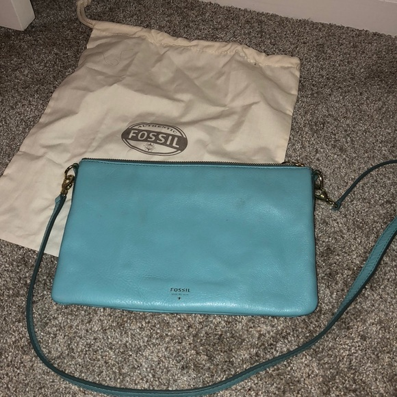 72b00b390a12 Fossil Light Blue Crossbody Bag Macy s